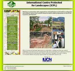 International Centre for Protected Landscapes Web Site