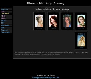 Elena's Marriage Agency